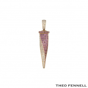Theo Fennell Rose Gold Tooth Pendant